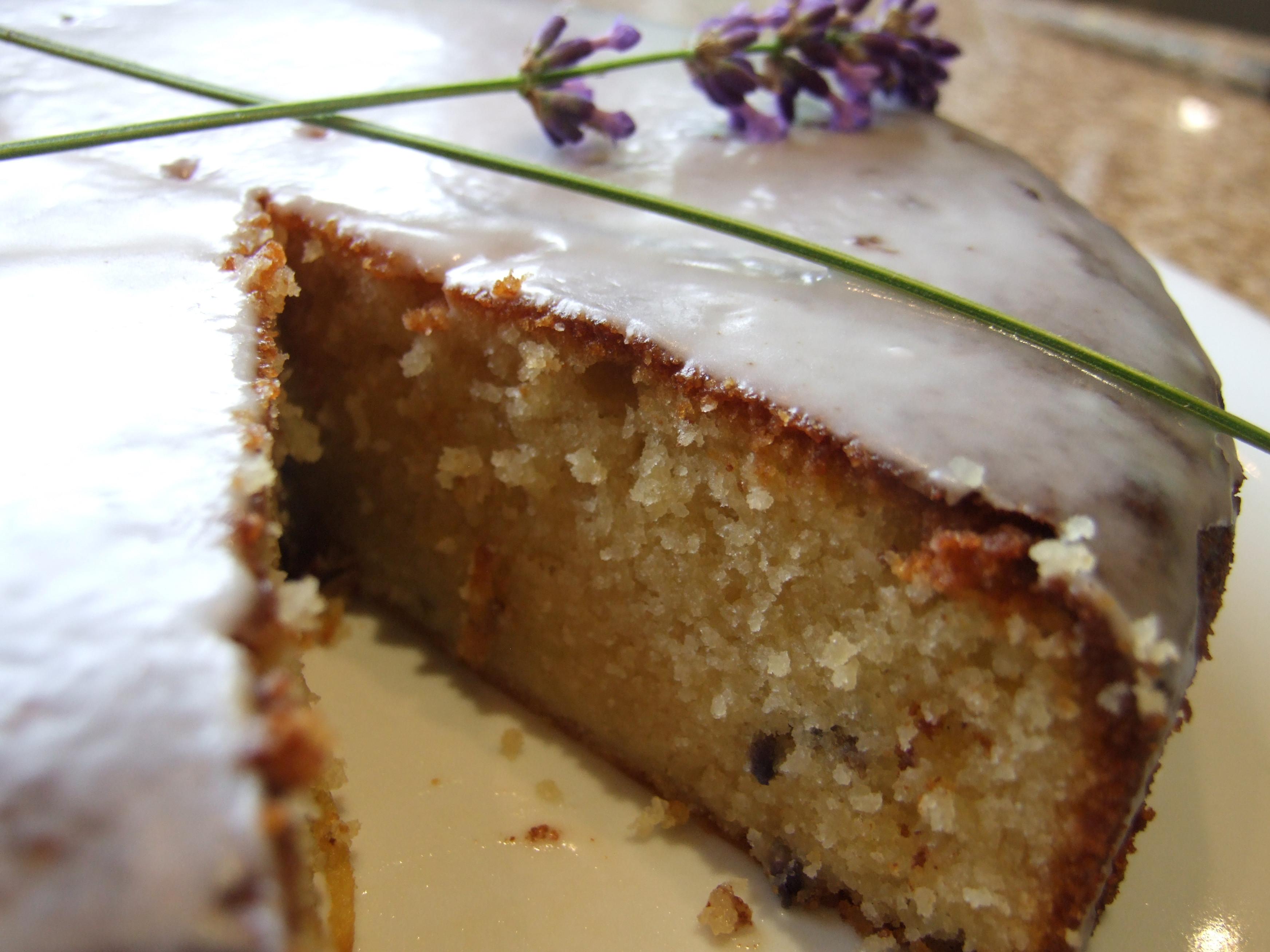 Lemon Lavender Cake  Lemon lavender and almond cake gluten free Family