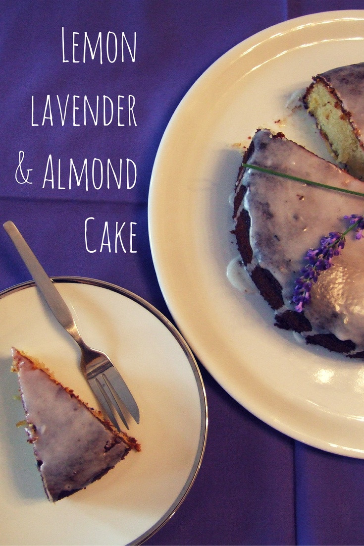 Lemon Lavender Cake  Lemon lavender and almond cake gluten free Family