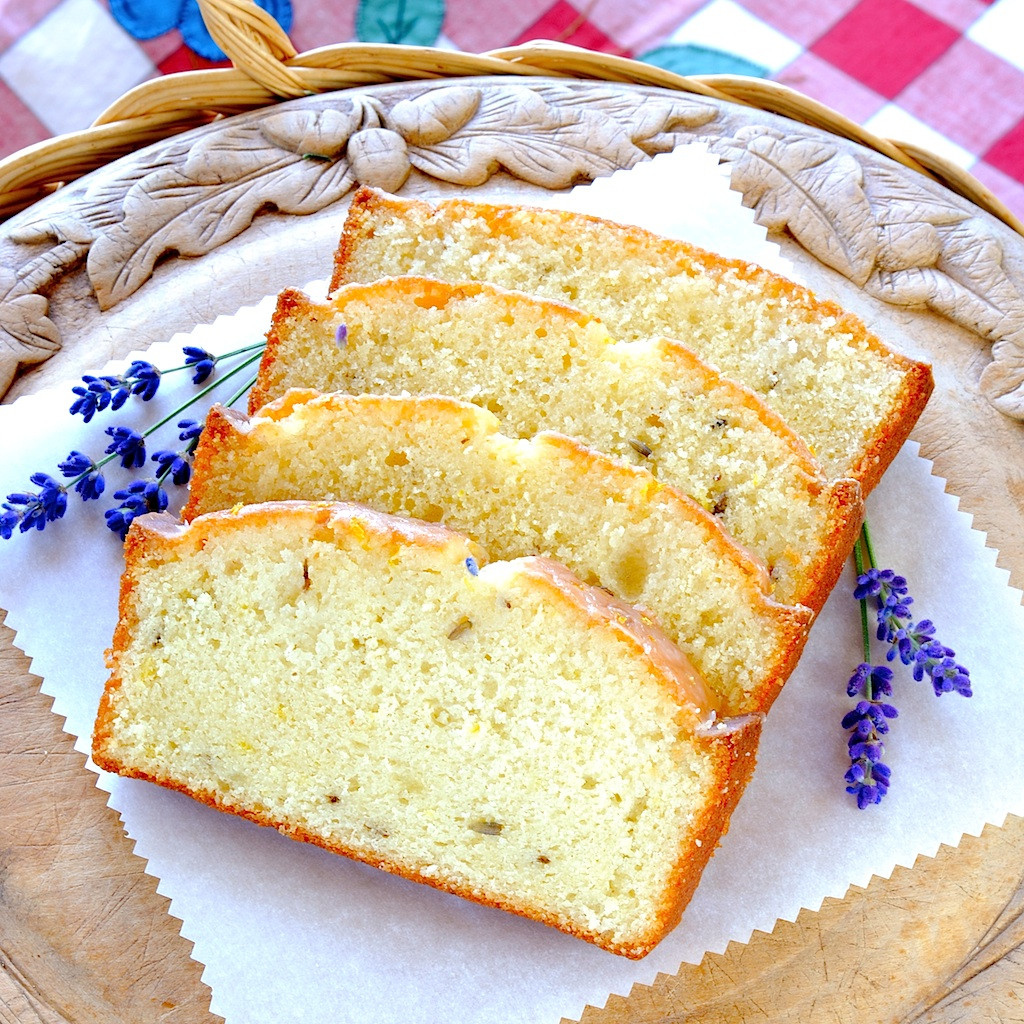 Lemon Lavender Cake  JULES FOOD Lemon Lavender Pound Cake