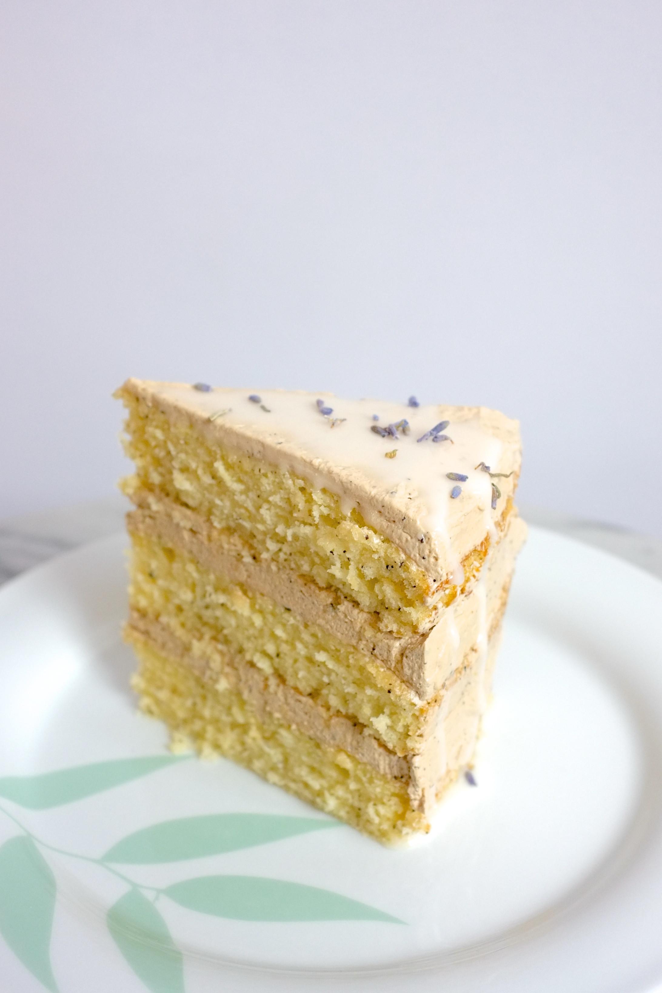 Lemon Lavender Cake  Earl Grey Lemon & Lavender Cake