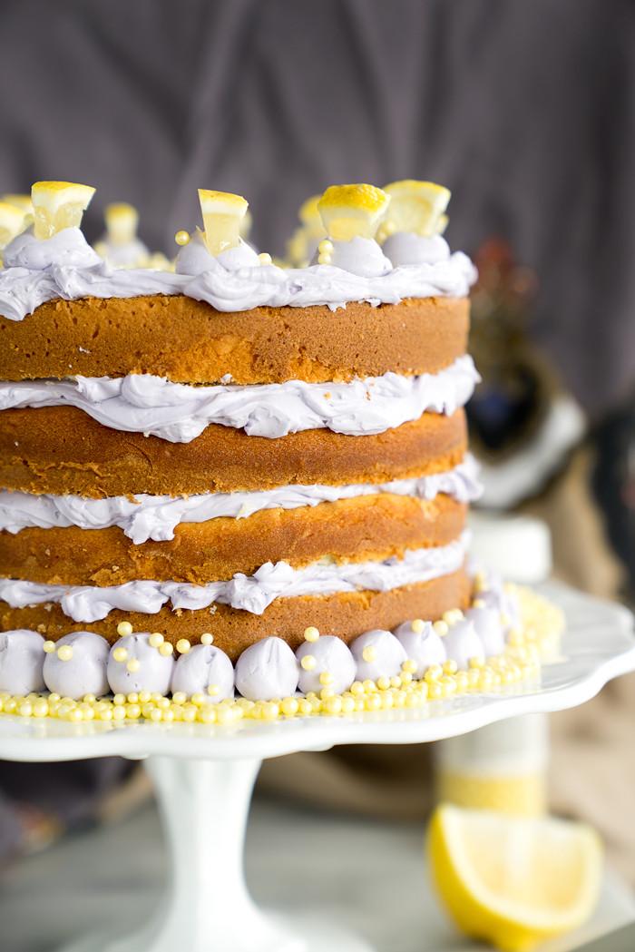 Lemon Lavender Cake  Luscious Lemon Lavender Cake