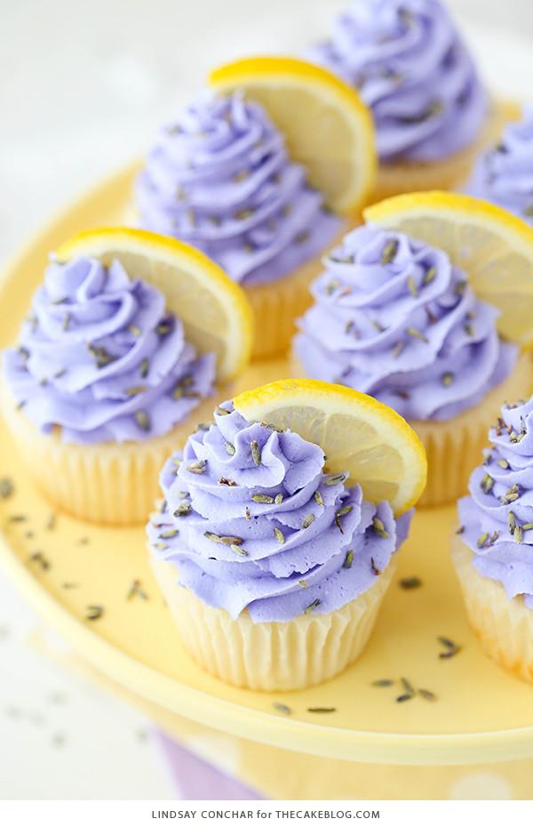 Lemon Lavender Cake  Lemon Lavender Cupcakes