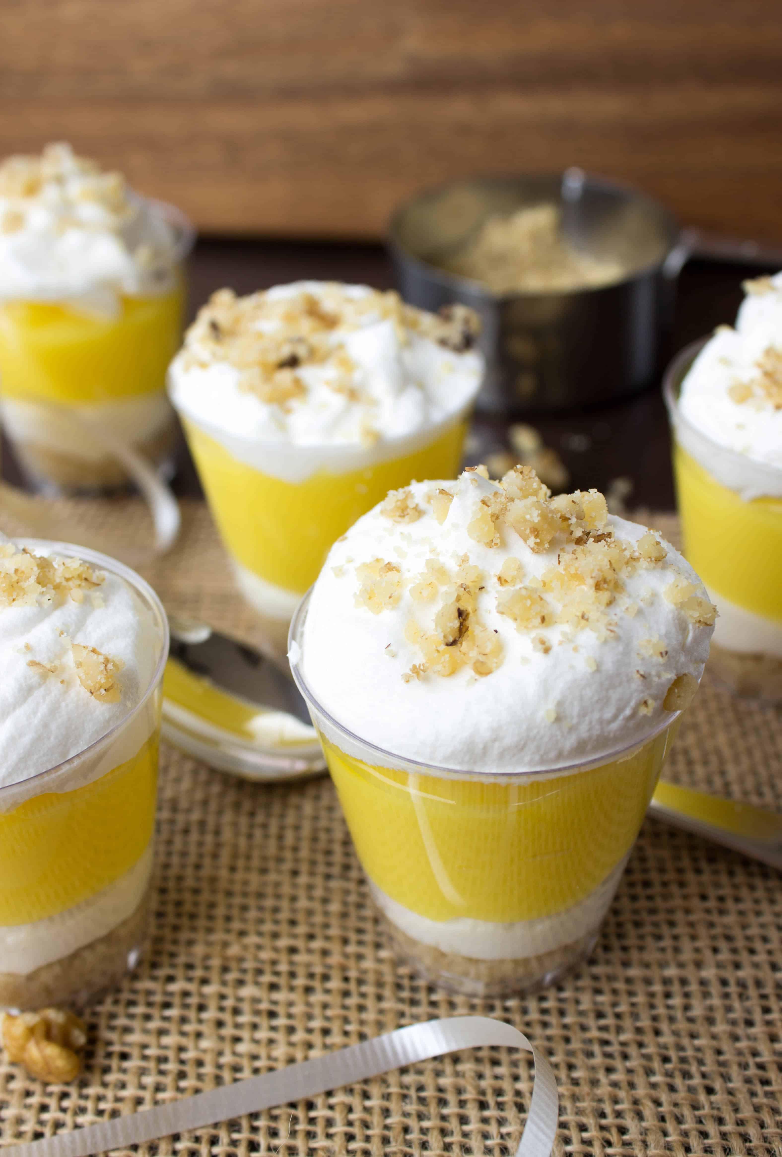 Lemon Lush Desserts  Lemon Lush Dessert Shooters