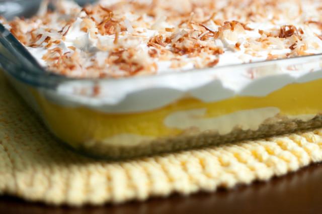 Lemon Lush Desserts  Herb on Herbs