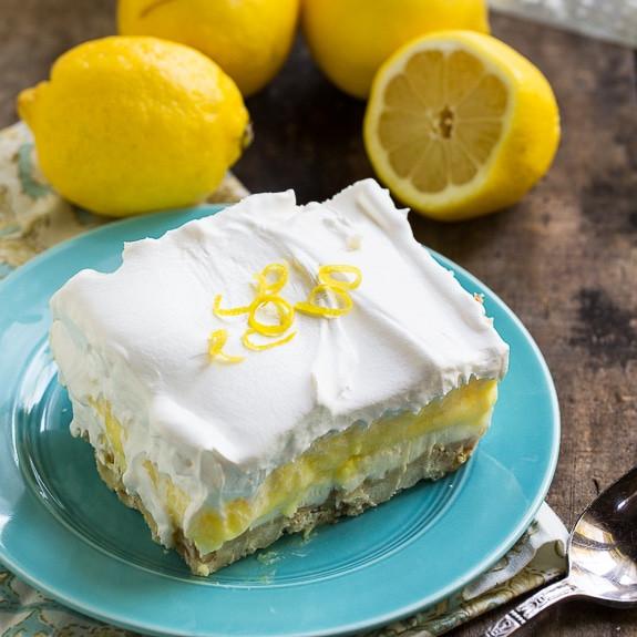 Lemon Lush Desserts  Lemon Lush Spicy Southern Kitchen