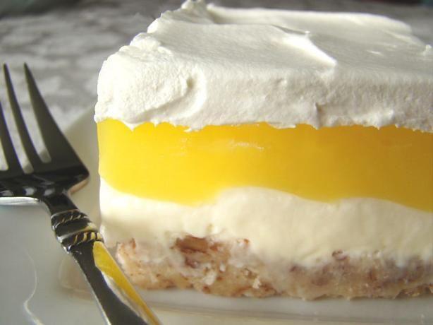 Lemon Lush Desserts  lemon lush recipes pecans
