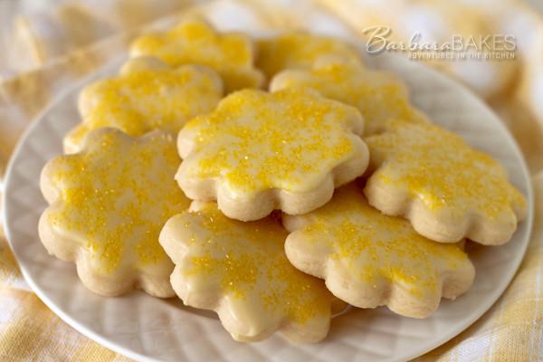 Lemon Shortbread Cookies  Lemon Shortbread Cookie Recipe