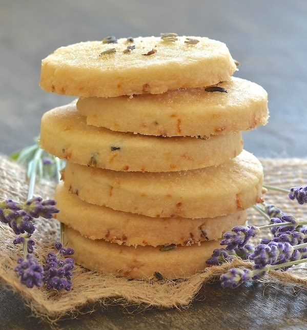 Lemon Shortbread Cookies  Lemon Lavender Shortbread Cookies A Virtual Vegan
