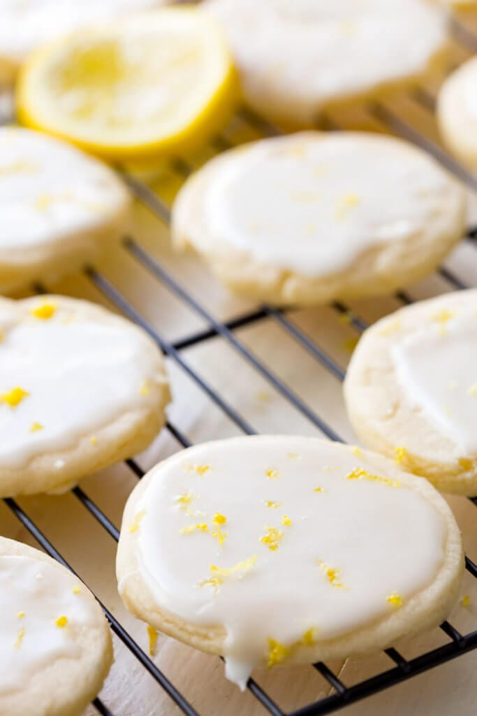 Lemon Shortbread Cookies  Lemon Shortbread Cookies Easy Peasy Meals
