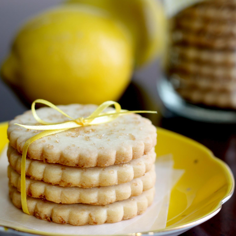 Lemon Shortbread Cookies  That Winsome Girl Lemon Shortbread