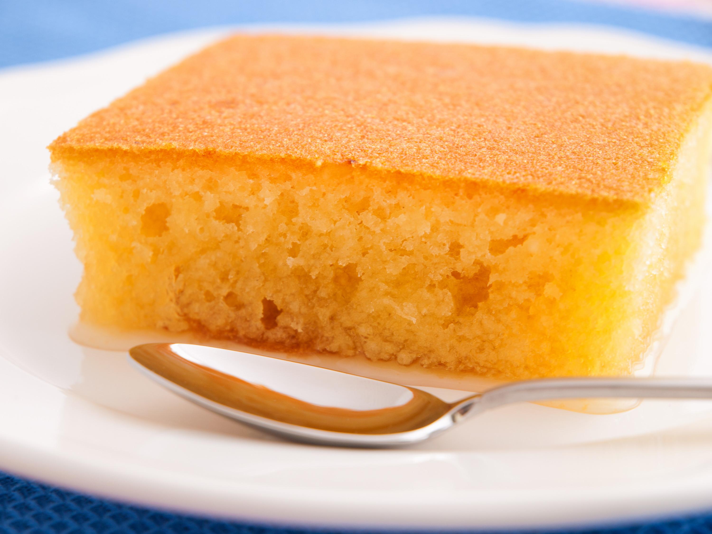 Lemon Sponge Cake  Recipe for Greek Style Lemon Sponge Cake