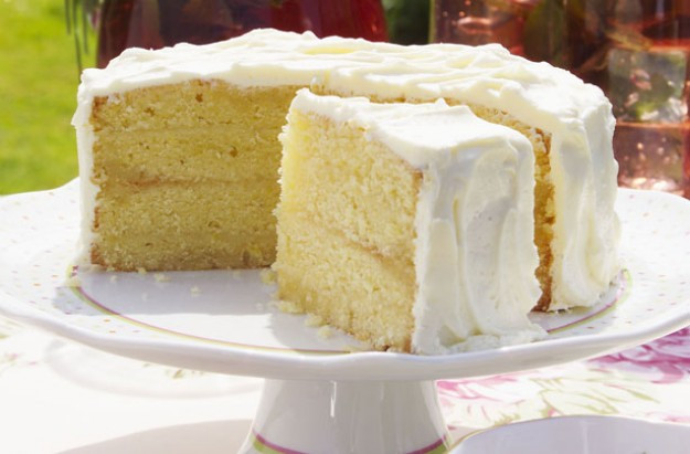 Lemon Sponge Cake  Lemon cake recipe goodtoknow