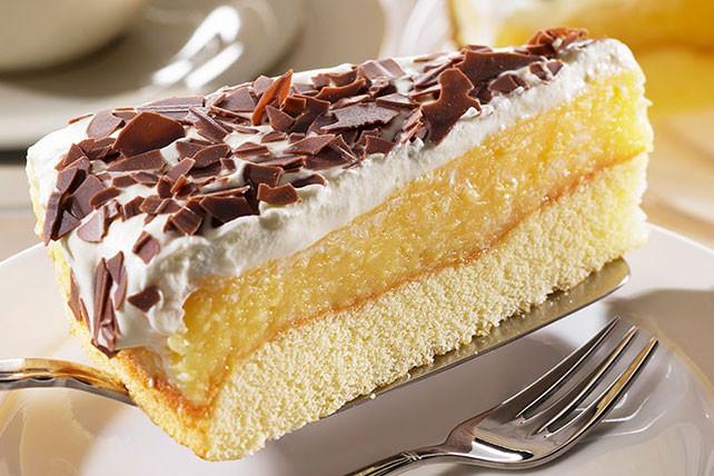 Lemon Sponge Cake  Lemon Sponge Cake Recipe Kraft Canada