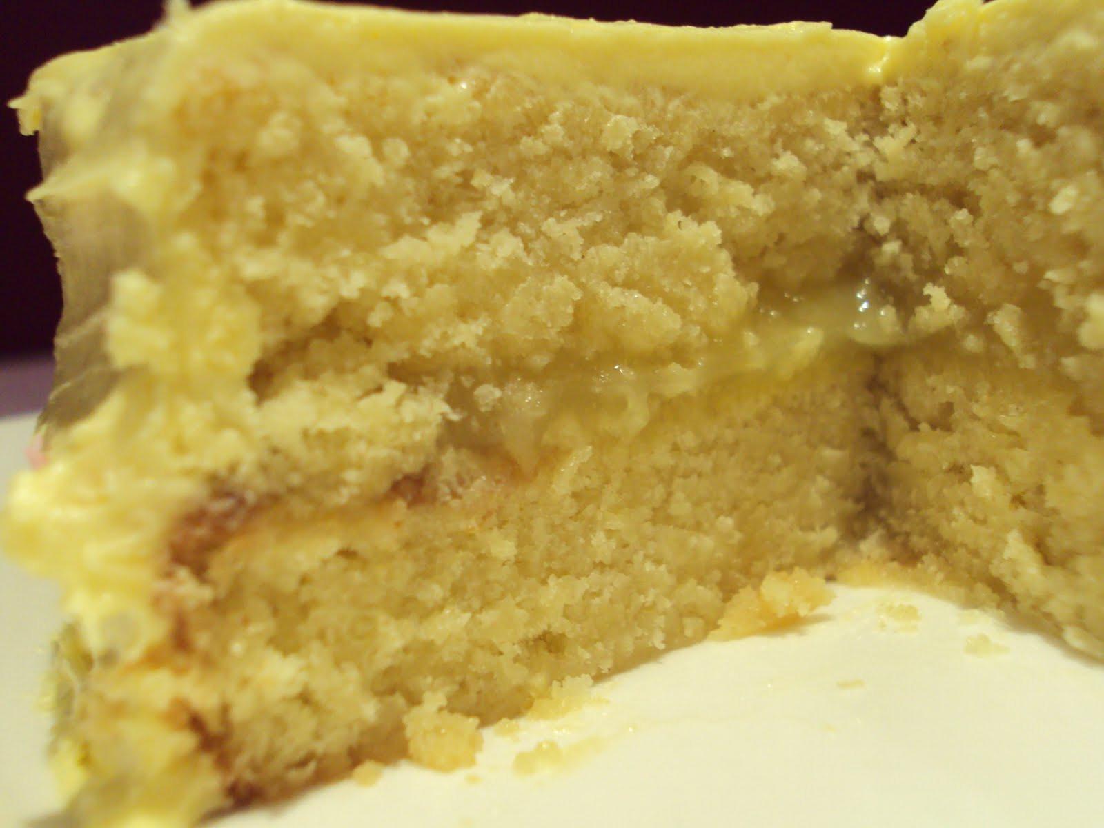 Lemon Sponge Cake  Belle s Bakehouse Lemon Sponge Cake