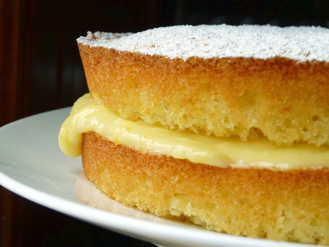 Lemon Sponge Cake  Lemon Victoria sponge cake recipe All recipes UK