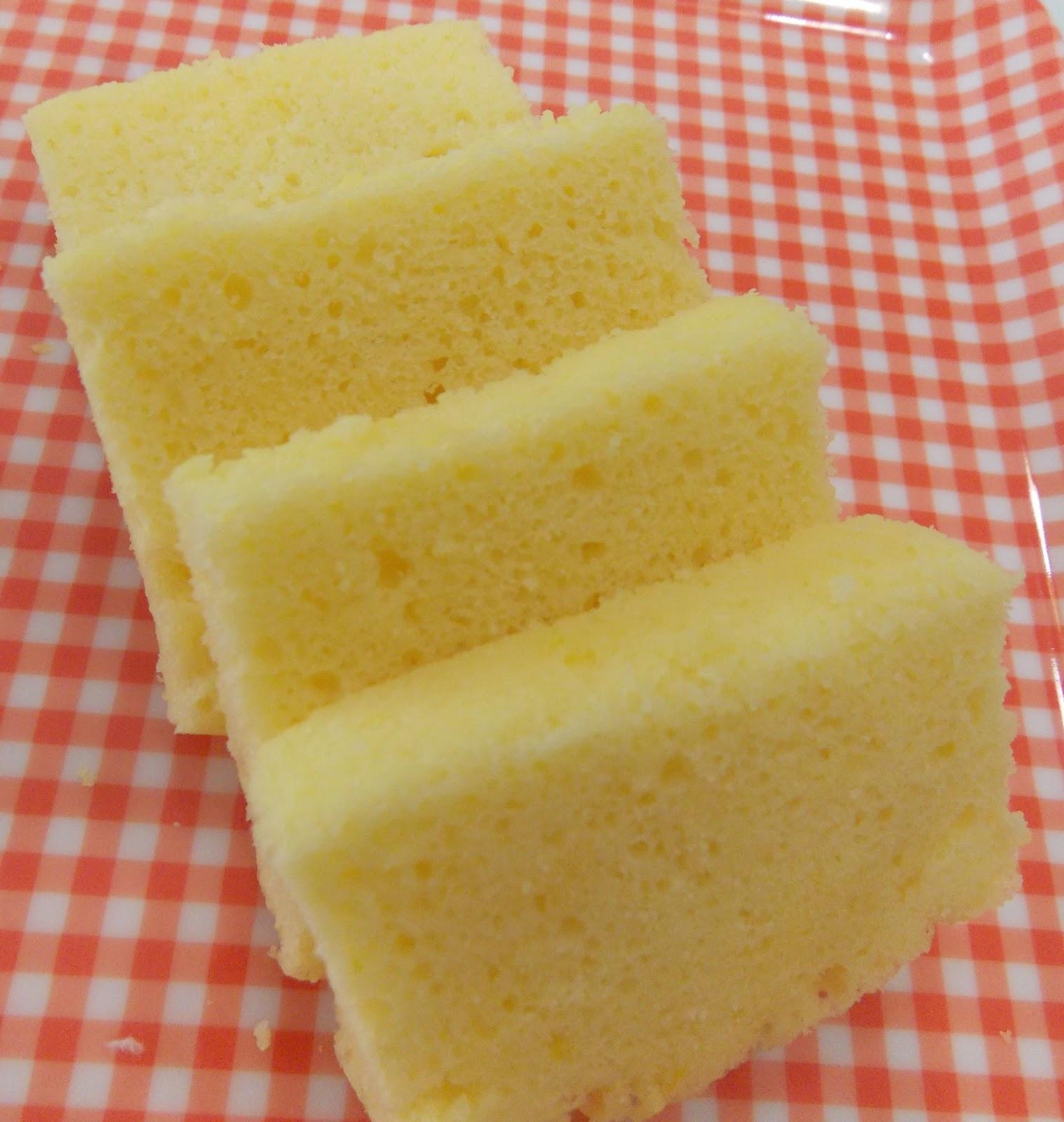 Lemon Sponge Cake  BeautyMe Love Recipes Steamed Lemon Sponge Cake