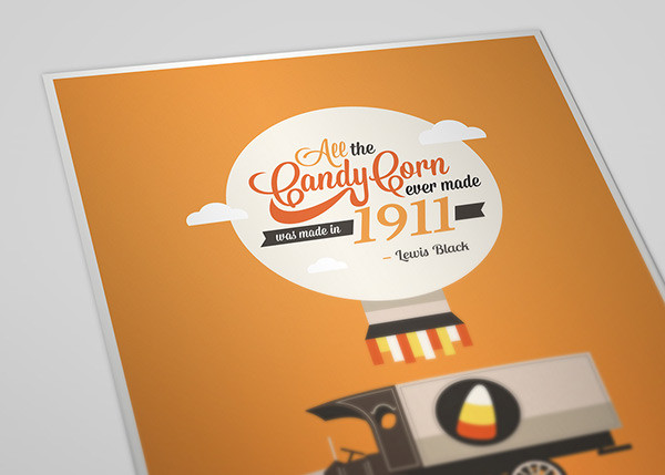 Lewis Black Candy Corn  All candy corn ever made was made in 1911 on Behance