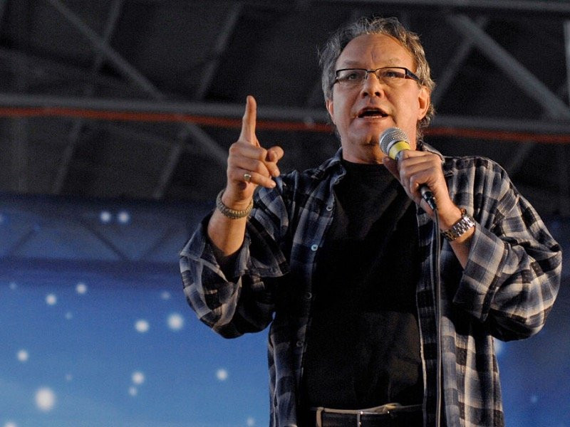Lewis Black Candy Corn  Lewis Black on edy drinking and relaxing during year