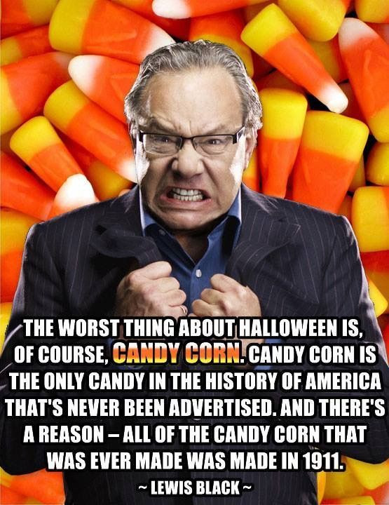 Lewis Black Candy Corn  Halloween – Littlest Martha