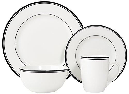 Light Weight Dinner Ware  Porcelain Dinner Ware Set 16PC 4person Set Lightweight