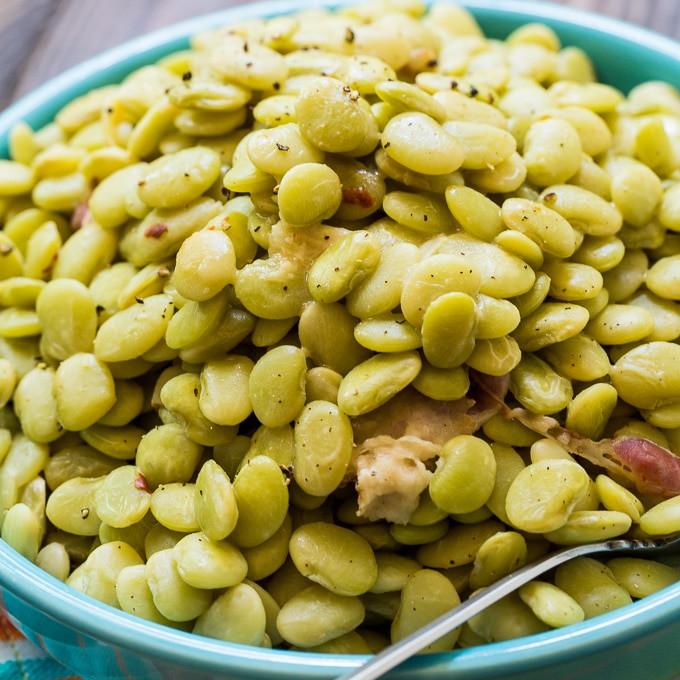 Lima Bean Recipes  Cracker Barrel Baby Limas Spicy Southern Kitchen