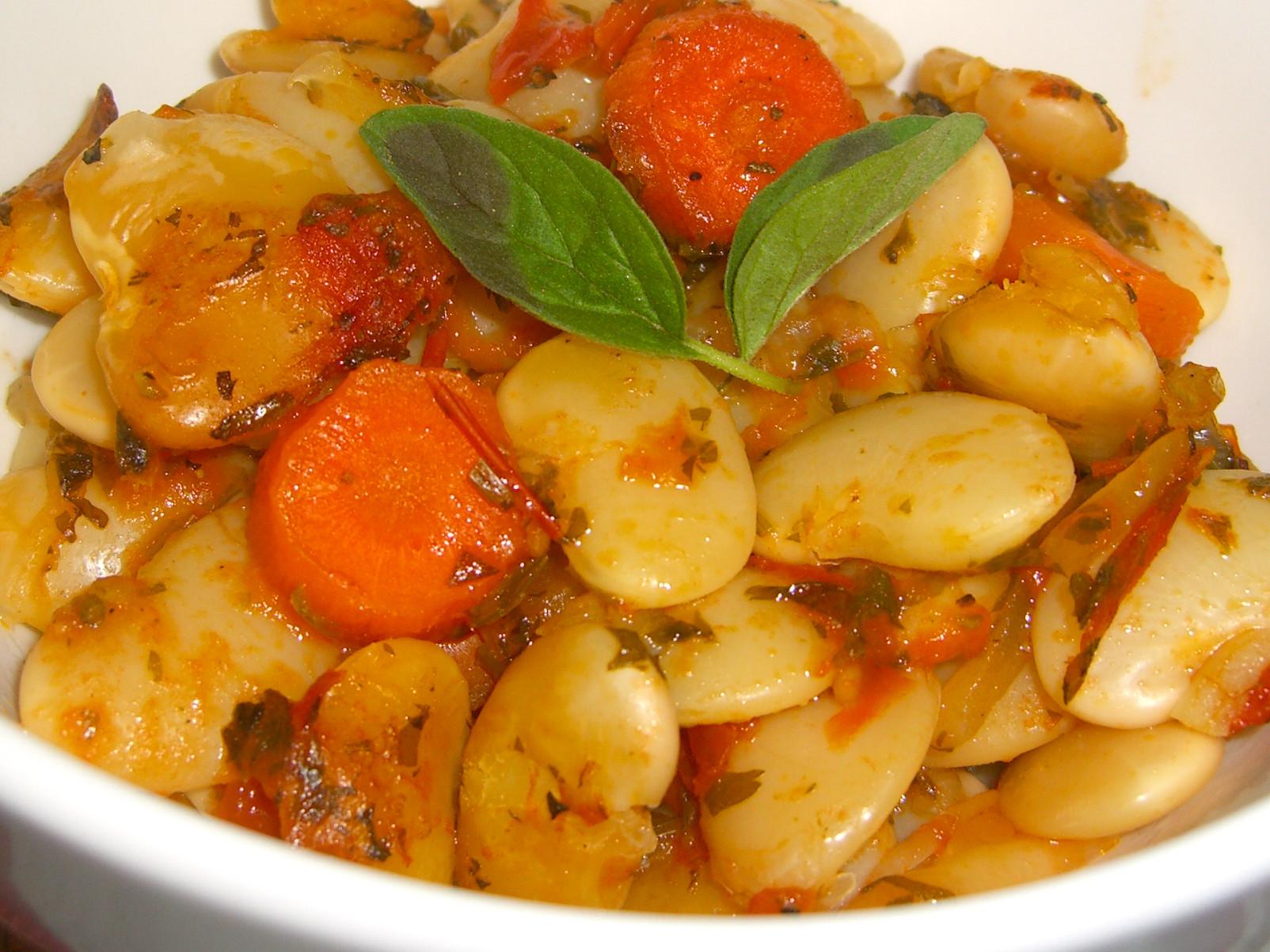 Lima Bean Recipes  BAKED LIMA BEANS