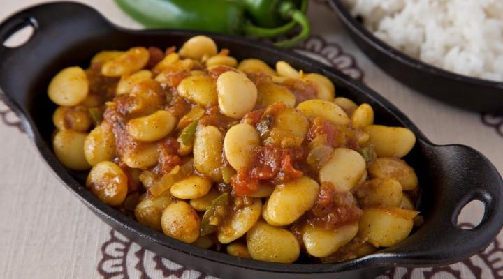 Lima Bean Recipes  white bean curry