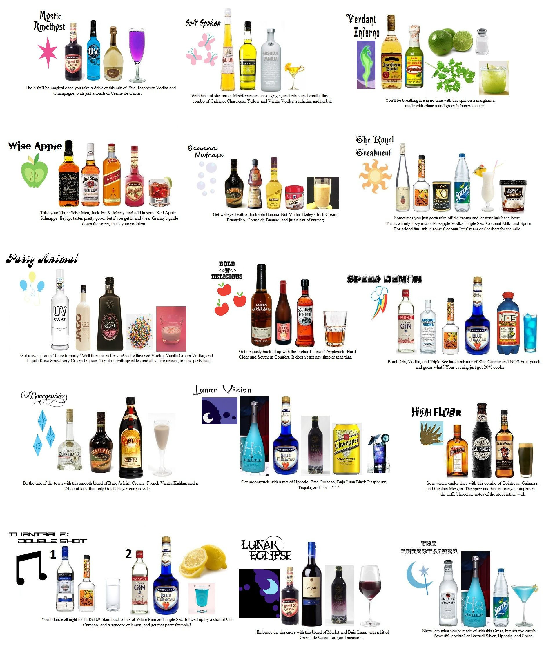 """List Of Cocktails  """"15 New Drinks to Thrill Your Taste Buds"""""""