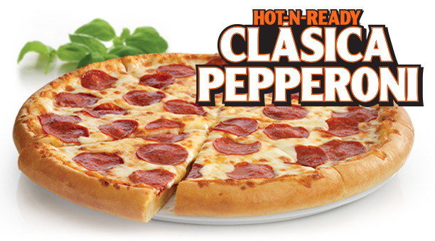 Little Caesars Hot-N-Ready Extramostbestest Pizza, Pepperoni  HOT N READY Classic Pepperoni