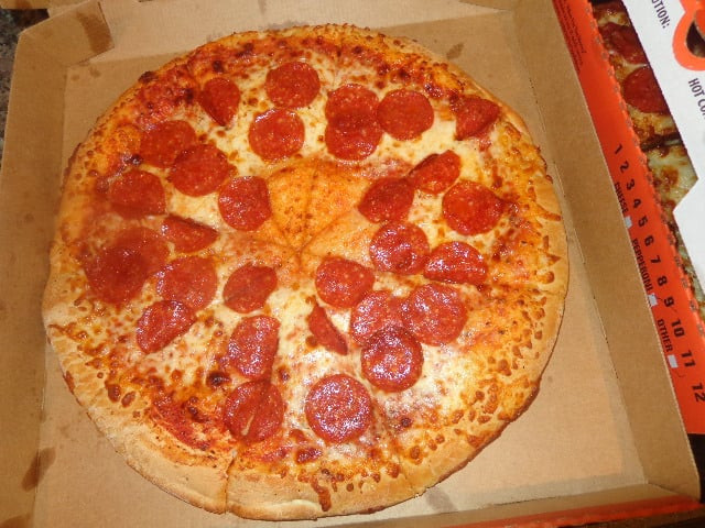 Little Caesars Hot-N-Ready Extramostbestest Pizza, Pepperoni  HOT N READY Classic Pepperoni $5 48 with tax 7 75 10