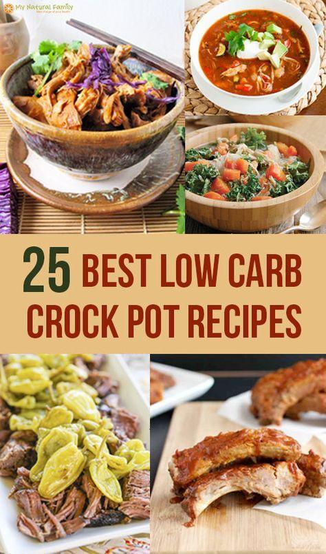 Low Calorie Crock Pot Recipes  The 25 Best Low Carb Crock Pot Recipes Low Calorie Too