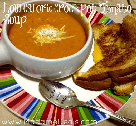 Low Calorie Crock Pot Recipes  Low Calorie Crock Pot Tomato Soup Recipe