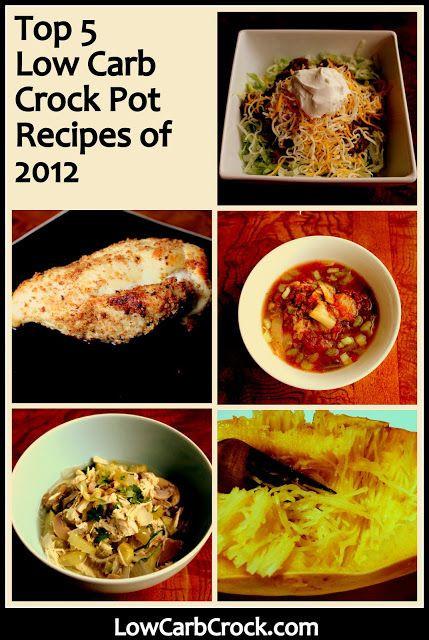 Low Calorie Crock Pot Recipes  LowCarbCrock Top 5 Low Carb Crock Pot Recipes of 2012
