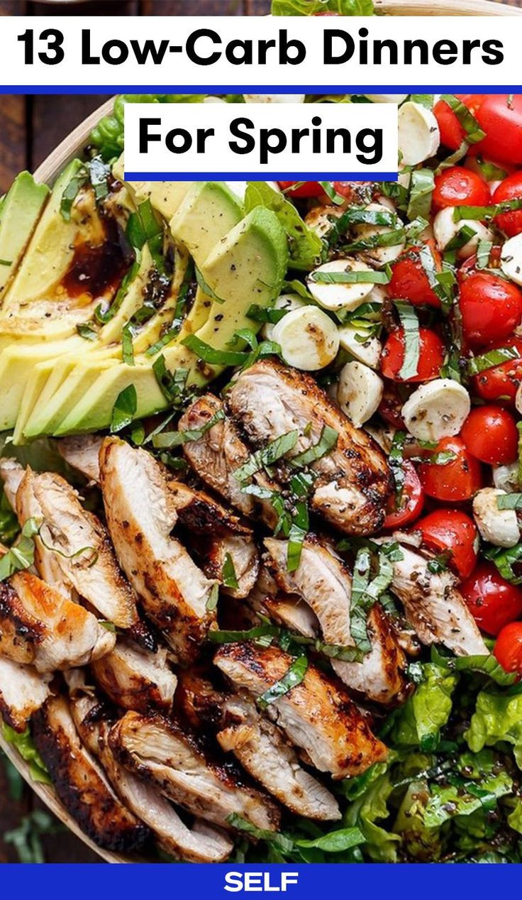 Low Calorie Dinners For Two  13 Low Carb Dinners That Are Perfect For Spring