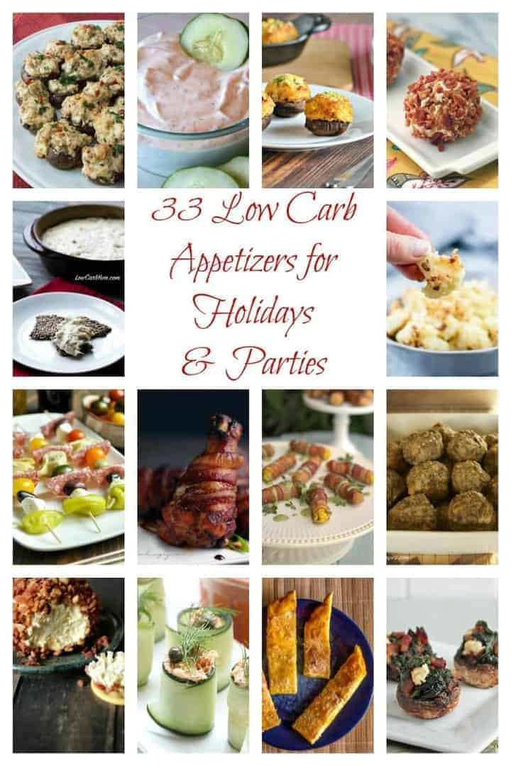 Low Carb Appetizers  Low Carb Appetizers for Parties & Holidays