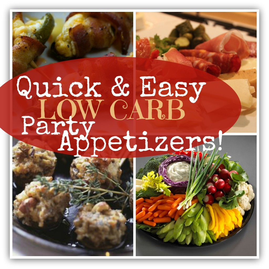 Low Carb Appetizers  Low Carb Party Appetizers SKINNY on LOW CARB