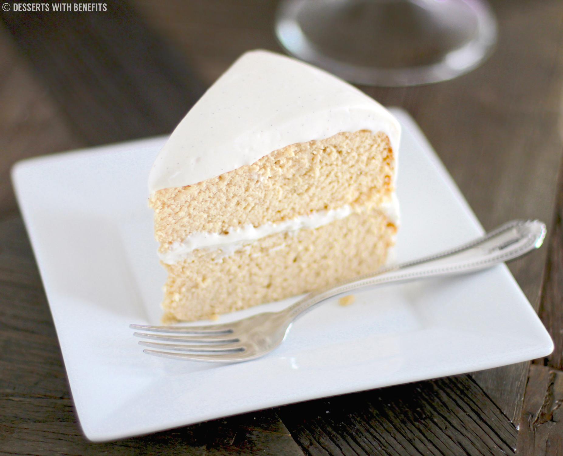 Low Carb Cream Cheese Dessert Recipes  Healthy Gluten Free Vanilla Cake