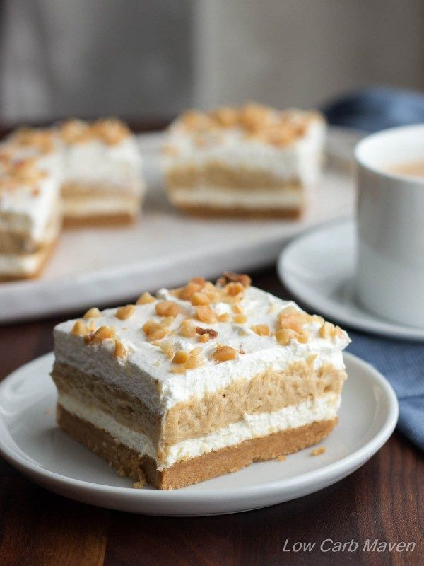 Low Carb Cream Cheese Dessert Recipes  Low Carb Peanut Butter Dessert Layered Dream
