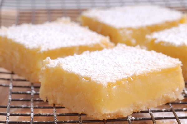 """Low Carb Cream Cheese Dessert Recipes  Low Carb Lemon """"cheesecake"""" Bars"""