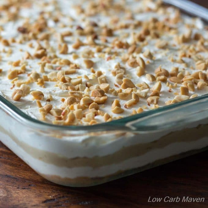 Low Carb Desserts With Cream Cheese  Low Carb Peanut Butter Layered Dream