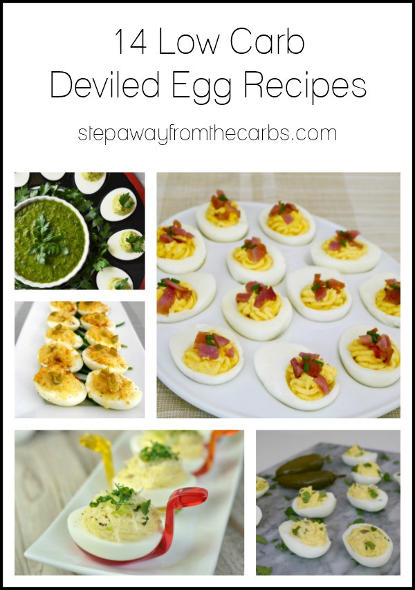 Low Carb Deviled Eggs  14 Low Carb Deviled Egg Recipes Step Away From The Carbs