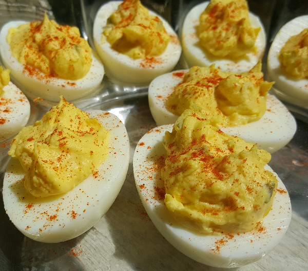 Low Carb Deviled Eggs  Day 35 Low Carb Cookout & Week 5 Weigh In