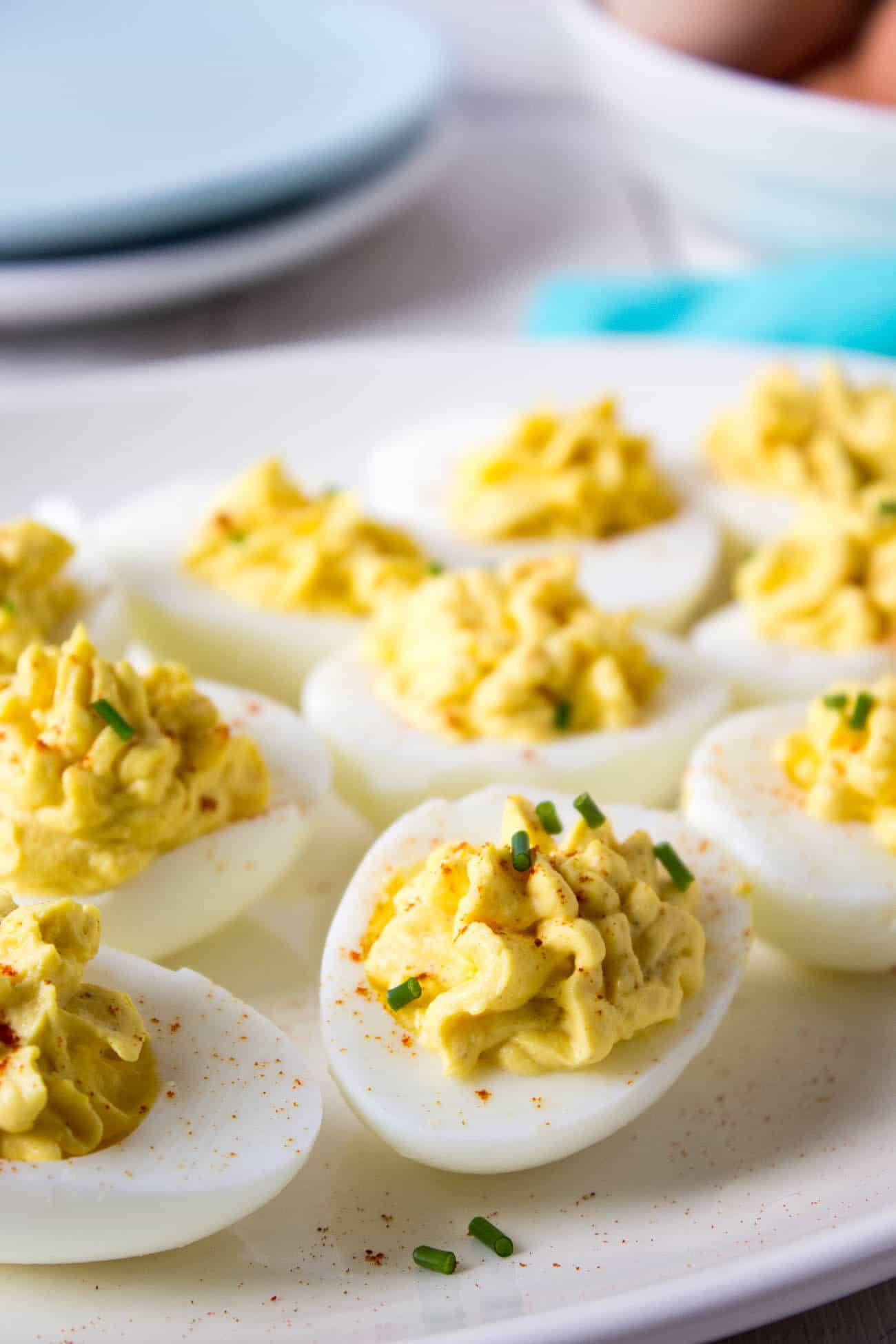 Low Carb Deviled Eggs  Low Carb Appetizer Recipes for the Holidays Simply So