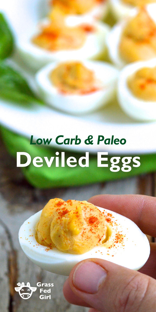 Low Carb Deviled Eggs  Low Carb Keto Paleo Deviled Eggs Recipe