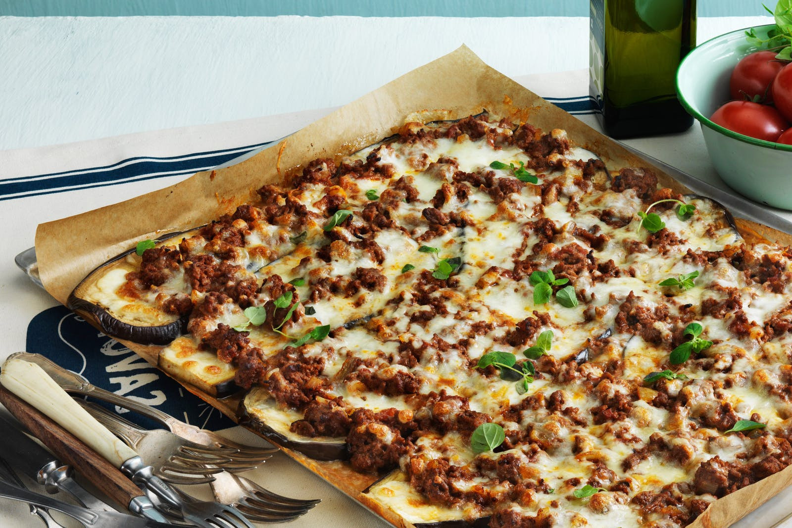 Low Carb Recipes For Dinner  Low Carb Eggplant Pizza With Beef and Cheese Diet Doctor