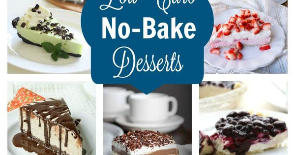 Low Carb Store Bought Desserts  Easy No Bake Low Carb Desserts