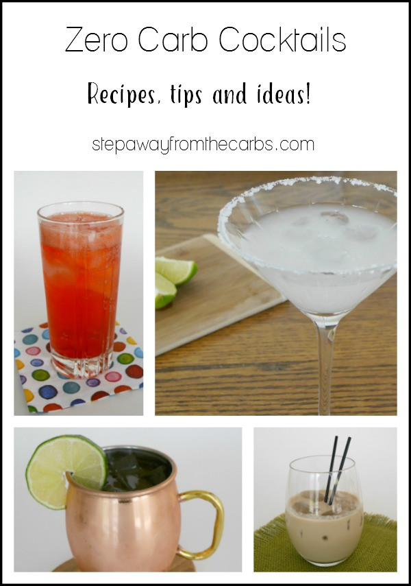 Low Carb Tequila Drinks  Zero Carb Cocktails Step Away From The Carbs