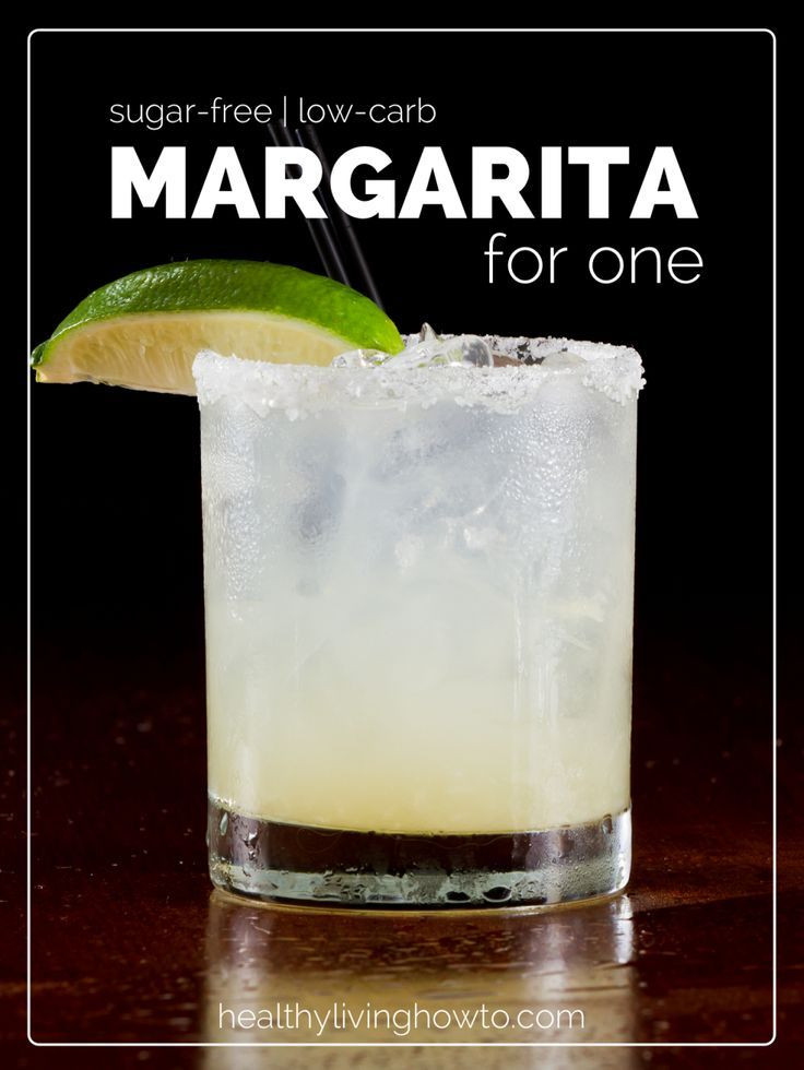 Low Carb Tequila Drinks  Margarita For e sugar free & low carb