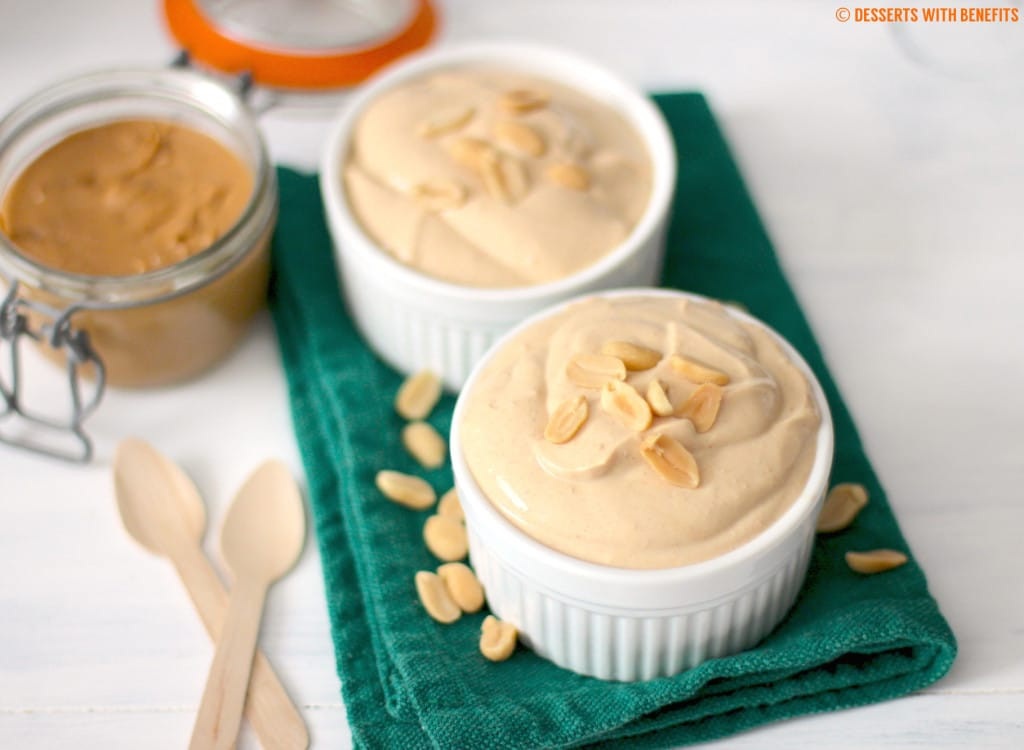 Low Cholesterol Desserts  Healthy Peanut Butter Yogurt Dip low fat low carb high