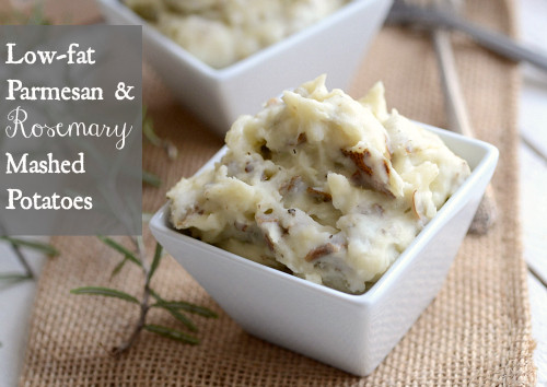 Low Fat Mashed Potatoes  Low fat Parmesan & Rosemary Mashed Potatoes